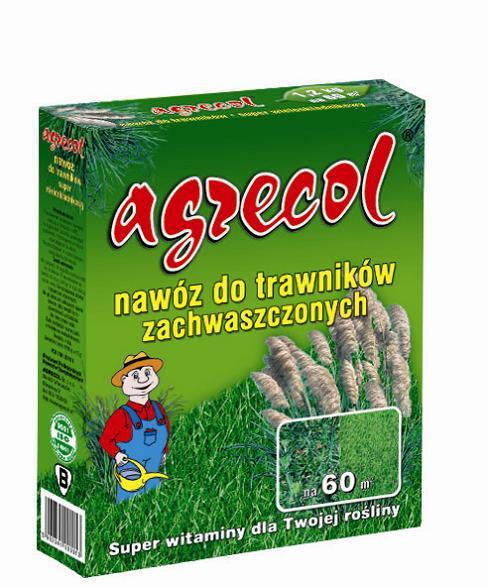 Удобрение Agrecol гранулированное для газона от сорняков