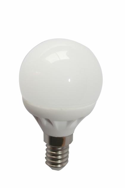 Светодиодная лампа G45-1 LED E14 4W - 3000K