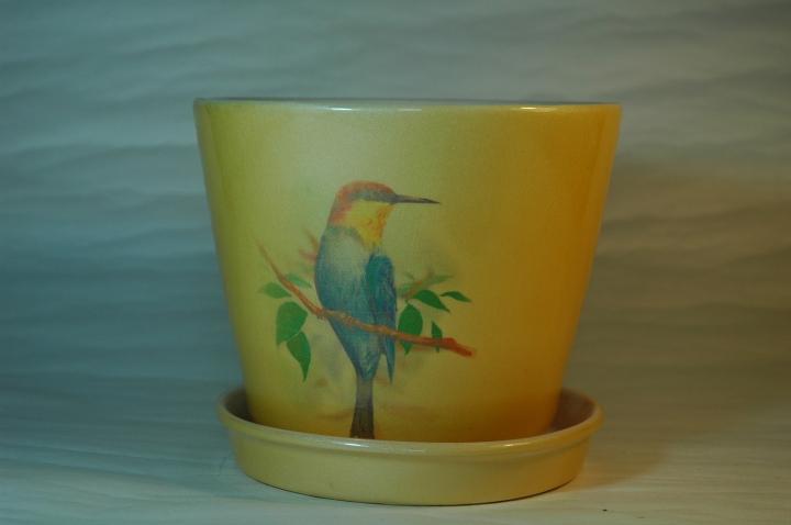 Горшок для растений, керамика, 1.2 литр