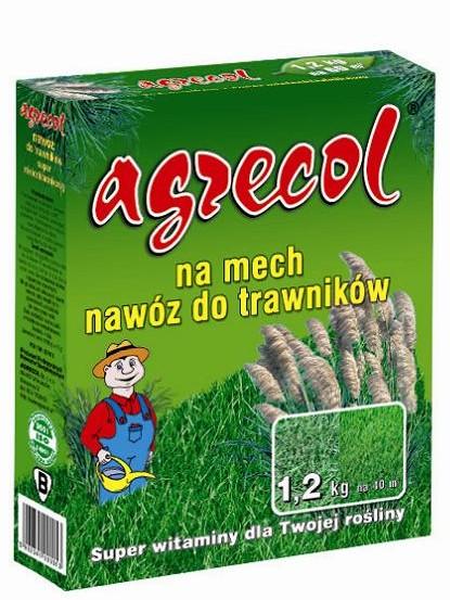 Удобрение Agrecol гранулированное для газонов от мха