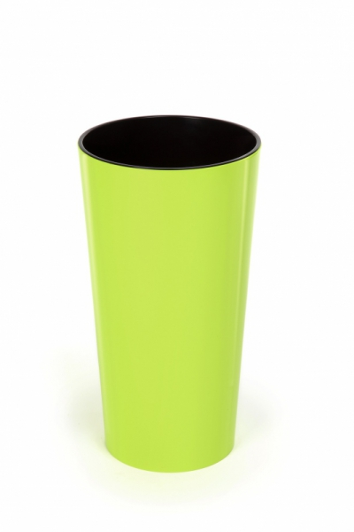 Кашпо Лилия с вазоном-вкладкой, 190х364 мм