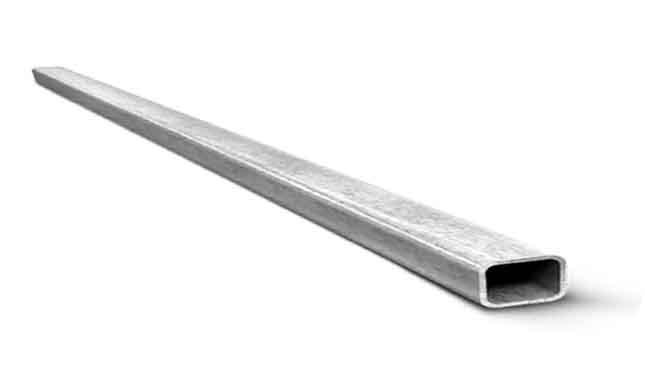 Труба профильная 40х20х2 мм, 1 метр погонный