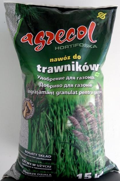 Удобрение Agrecol гранулированное для для газонов
