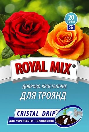 Удобрение кристаллическое Royal Mix для роз