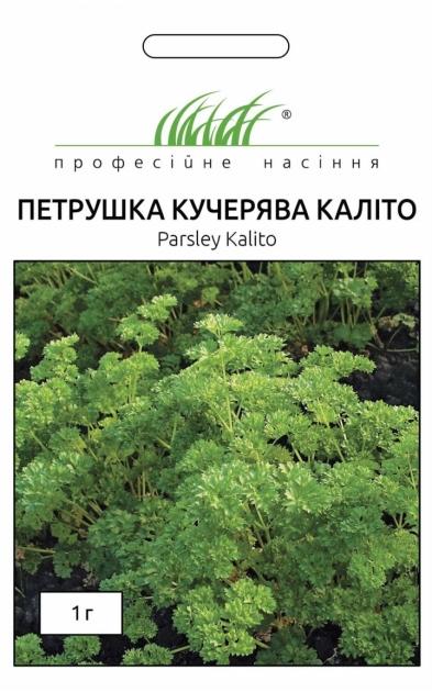 Семена петрушки кучерявой Калито