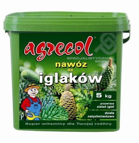 Удобрение Agrecol гранулированное осень для хвойных растений