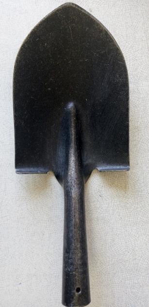 Лопата из рельсовой стали (американка мини)