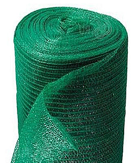 Сетка от солнца 45%, зеленая, 20 м. кв.