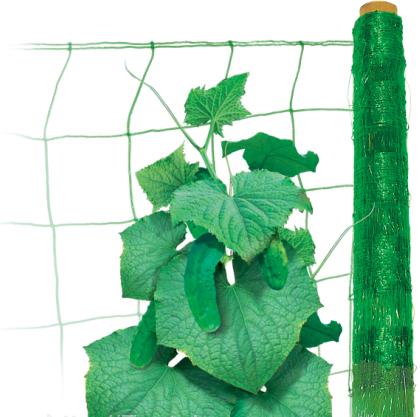 Шпалерная сетка, светло-зеленая, 17 м. кв.