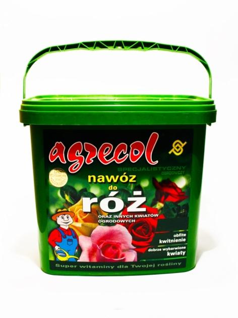 Удобрение Agrecol гранулированное для роз, 5 кг