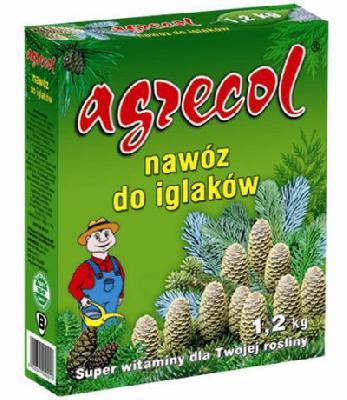 Удобрение Agrecol гранулированное для хвойных растений