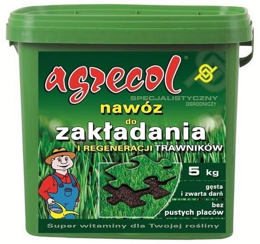 Удобрение Agrecol для газонов SUPER многокомпонентный, 10 кг