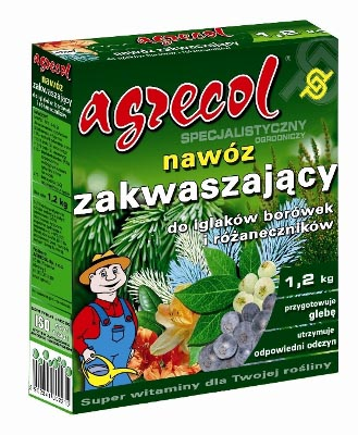 Удобрение Agrecol гранулированное подкисляющее для хвойных растений