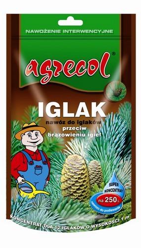 Удобрение Agrecol кристаллическое для хвои от пожелтения