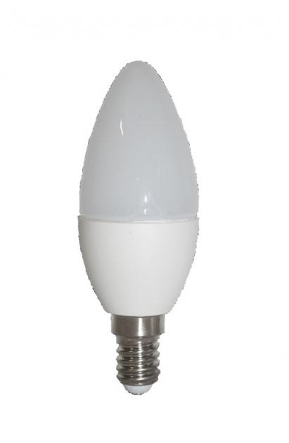 Светодиодная лампа C37 LED E14 4W — 2700-3000K