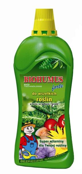 Удобрение Agrecol Биогумус Форте для декоративно-лиственных растений 1,2 л