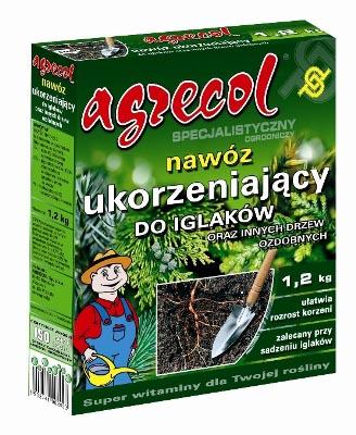 Удобрение Agrecol гранулированное для укоренения хвойных растений