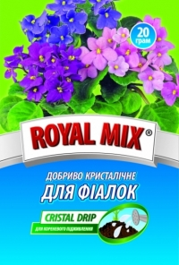 Удобрение кристаллическое Royal Mix для фиалок